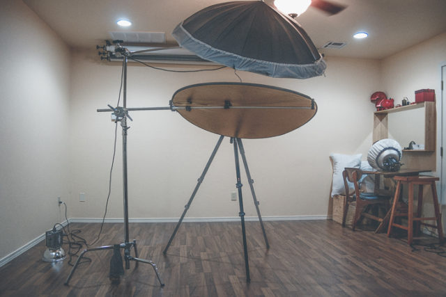 Working in a Small Studio
